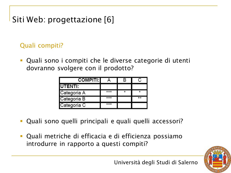 Siti Web: progettazione [6]